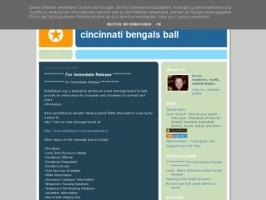 Cincinnati Bengals Ball