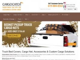 Cargocatch: Truck cargo nets, bed organizer