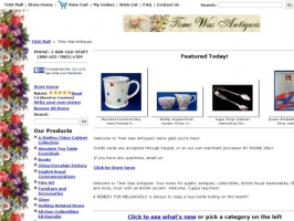 Time Was English Antiques & Tea Items