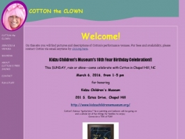 Cotton the Clown