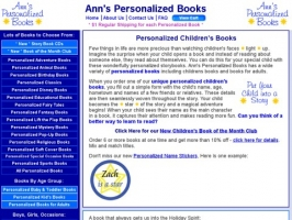 Anns Personalized Books