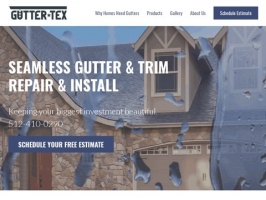 Gutter Tex Repair and Installation