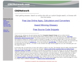 CSGNetwork & Computer Support Group