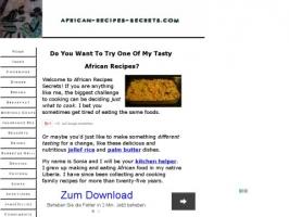 African Recipes Secrets