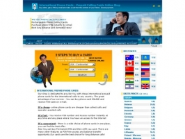 International Pnone Cards, Prepaid Calling Cards.