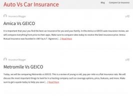 Auto Vs Car Insurance - Best Car Insurance Companies