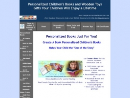 Custom Storybooks-Personalized Books and Wood Toys