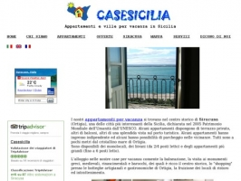 Apartments for holidays in Sicily