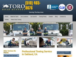 Complete Towing Service in Oakland, CA | Toro Road Runners