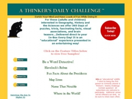 A Thinkers Daily Challenge