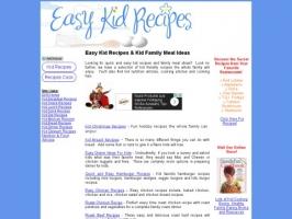 Easy Kid Recipes