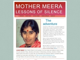 At The Feet of Mother Meera: The Lessons of Silenc