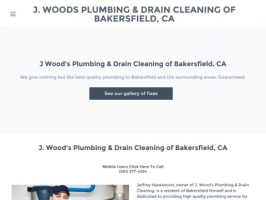 J. Woods Plumbing & Drain Cleaning