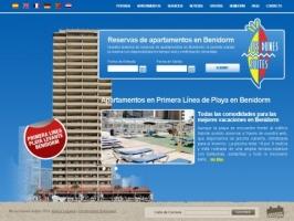 Rent apartments in the beach of Benidorm