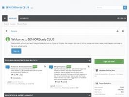 SENIORSonly CLUB