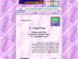 CogniTime: A Space for Time--in special, Human Tim