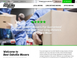 Moving Companies Oakville