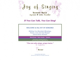 Donna Rose Stewart - Soprano & Voice Teacher