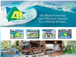 4U Concentrated Cleaner: Multipurpose Degreaser an