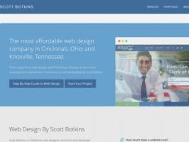 Scott Botkins: Cincinnati Web Design