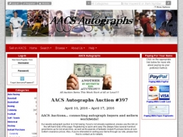 A.A.C.S. Autographs and Collectibles