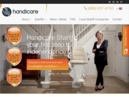 Handicare USA | Straight, Curved & Outdoor Stairli