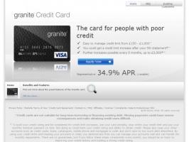 Granite Credit Card