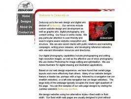 Zeducorp.us - Web Design and Digital Arts