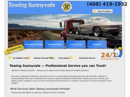 Towing Sunnyvale | 24/7 Towing & Roadside Assistance