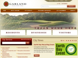 City of Garland Web site