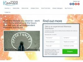 Work at Home With Kleeneze