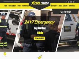 Reliable Towing & Roadside Help in Santa Ana - Spark Towing