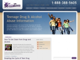 Teenage Drug and Alcohol Abuse Information