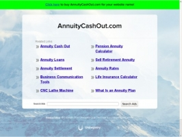 Annuity Cashout