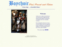 Boychoir - Past, Present and Future