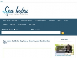 Spa Index: Guide to Day Spas and Stay Spas