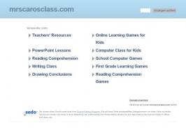 Mrs. Caros Class
