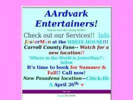 AArdvark Entertainers