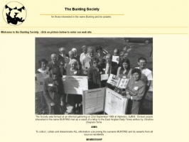 The Bunting Society