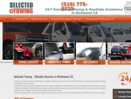 Selected Towing – Reliable Services in Richmond CA