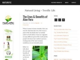Naturific - Natural Living, Terrific Life Blog