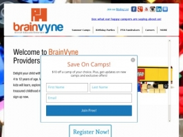 BrainVyne LEGO® Education Camps
