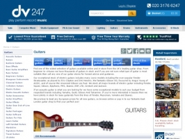 Guitars at DV247