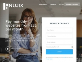 NUJIX™ | Pay Monthly Website From £35