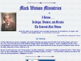 Mack Watson Ministries
