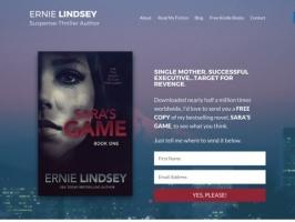 Ernie Lindsey | Suspense-Thriller Author