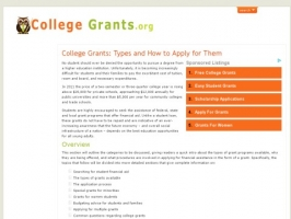 Grants for College