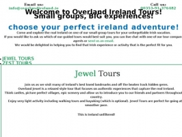 Overland Ireland - Small group guided tours of Ireland