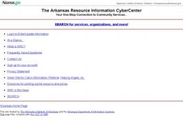 Arkansas Resource Information CyberCenter