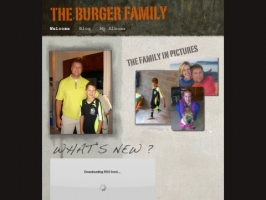 Burger Family Website